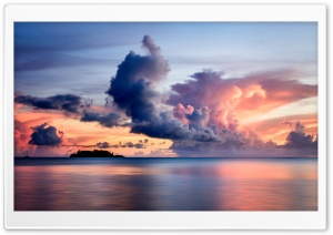 Sunset Clouds, Guam HD Wide Wallpaper for 4K UHD Widescreen desktop & smartphone
