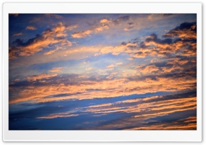 Sunset Clouds, Summer HD Wide Wallpaper for Widescreen
