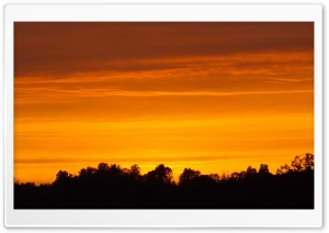 Sunset in Estonia. HD Wide Wallpaper for Widescreen
