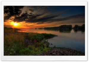 Sunset In Germany HD Wide Wallpaper for Widescreen
