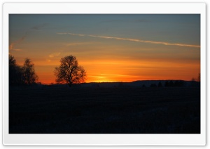 Sunset in Norway HD Wide Wallpaper for Widescreen