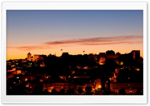 Sunset In Silves HD Wide Wallpaper for Widescreen