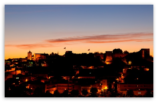Download Sunset In Silves UltraHD Wallpaper