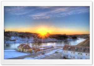 Sunset in the City Ultra HD Wallpaper for 4K UHD Widescreen desktop, tablet & smartphone