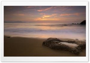 Sunset Long Exposure HD Wide Wallpaper for Widescreen