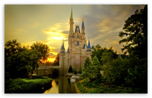 Sunset Over Cinderella Castle HD wallpaper for Wide 16:10 5:3 Widescreen WHXGA WQXGA WUXGA WXGA WGA ; HD 16:9 High Definition WQHD QWXGA 1080p 900p 720p QHD nHD ; UHD 16:9 WQHD QWXGA 1080p 900p 720p QHD nHD ; Standard 4:3 5:4 3:2 Fullscreen UXGA XGA SVGA QSXGA SXGA DVGA HVGA HQVGA devices ( Apple PowerBook G4 iPhone 4 3G 3GS iPod Touch ) ; Tablet 1:1 ; iPad 1/2/Mini ; Mobile 4:3 5:3 3:2 5:4 - UXGA XGA SVGA WGA DVGA HVGA HQVGA devices ( Apple PowerBook G4 iPhone 4 3G 3GS iPod Touch ) QSXGA SXGA ;