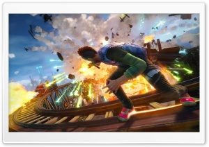 Sunset Overdrive Ultra HD Wallpaper for 4K UHD Widescreen desktop, tablet & smartphone