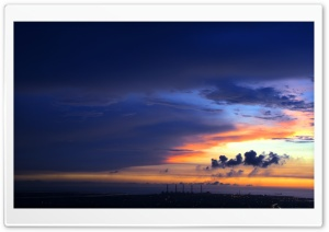 Sunset Sky HD Wide Wallpaper for 4K UHD Widescreen desktop & smartphone