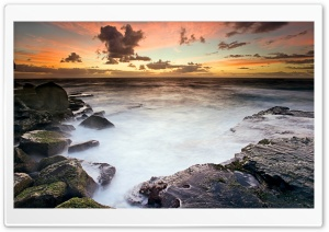 Sunset Sky, Long Exposure HD Wide Wallpaper for Widescreen
