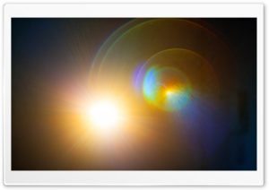 Sunshine LensFlare II HD Wide Wallpaper for Widescreen