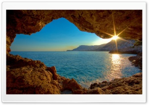 Sunshine Ocean HD Wide Wallpaper for 4K UHD Widescreen desktop & smartphone