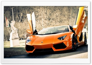 Super Lamborghini Aventador Car HD Wide Wallpaper for Widescreen