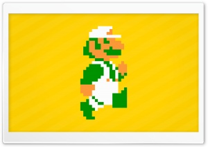 Super Luigi HD Wide Wallpaper for Widescreen