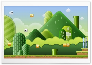 Super Mario Bros HD Wide Wallpaper for Widescreen