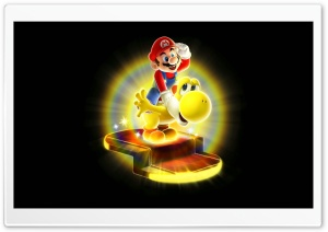 Super Mario Galaxy 2 HD Wide Wallpaper for Widescreen