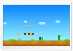 Super Mario Game HD Wide Wallpaper for 4K UHD Widescreen desktop & smartphone