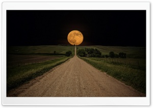 Super Moon HD Wide Wallpaper for 4K UHD Widescreen desktop & smartphone