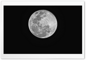 Super Moon HD Wide Wallpaper for Widescreen
