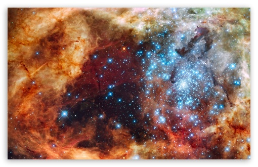 Super Star Cluster HD wallpaper for Wide 16:10 5:3 Widescreen WHXGA WQXGA WUXGA WXGA WGA ; Other 3:2 DVGA HVGA HQVGA devices ( Apple PowerBook G4 iPhone 4 3G 3GS iPod Touch ) ; Mobile WVGA iPhone - WVGA WQVGA Smartphone ( HTC Samsung Sony Ericsson LG Vertu MIO ) HVGA Smartphone ( Apple iPhone iPod BlackBerry HTC Samsung Nokia ) ;