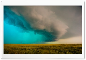Supercell Thunderstorm HD Wide Wallpaper for Widescreen