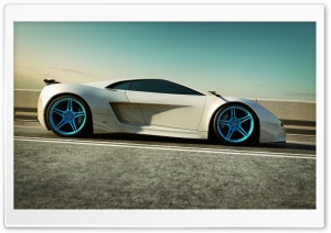 Supercharged HD Wide Wallpaper for Widescreen