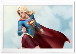 Supergirl Artwork Ultra HD Wallpaper for 4K UHD Widescreen desktop, tablet & smartphone