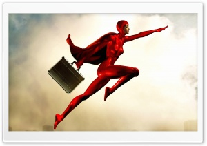 Superhero HD Wide Wallpaper for Widescreen