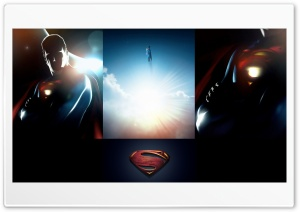 Superman 2013 Fan Poster HD Wide Wallpaper for Widescreen