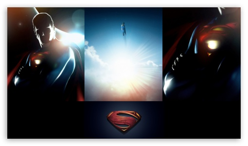 Superman 2013 Fan Poster HD wallpaper for HD 16:9 High Definition WQHD QWXGA 1080p 900p 720p QHD nHD ; Mobile WVGA PSP - WVGA WQVGA Smartphone ( HTC Samsung Sony Ericsson LG Vertu MIO ) Sony PSP Zune HD Zen ;