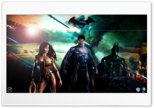 Superman Batman Wonderwoman DC HD Wide Wallpaper for 4K UHD Widescreen desktop & smartphone