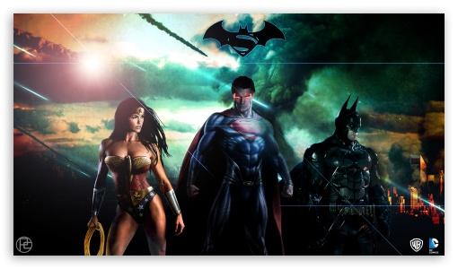 Superman Batman Wonderwoman DC ❤ 4K UHD Wallpaper for 4K UHD 16:9 Ultra High Definition 2160p 1440p 1080p 900p 720p ; Mobile 16:9 - 2160p 1440p 1080p 900p 720p ;
