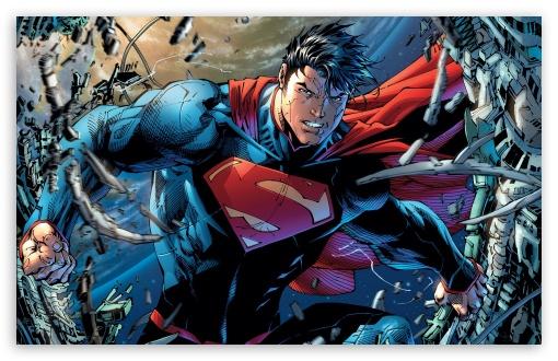 Download Superman Cartoon HD Wallpaper