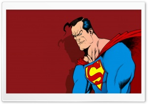 Superman Comic Art Ultra HD Wallpaper for 4K UHD Widescreen desktop, tablet & smartphone