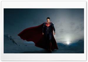 Superman in Man Of Steel HD Wide Wallpaper for Widescreen