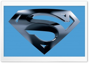 Superman Logo HD Wide Wallpaper for Widescreen