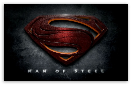Superman Man of Steel Logo HD wallpaper for Standard 4:3 5:4 ...