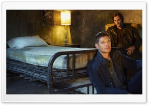 Supernatural, Jensen Ackles and Jared Padalecki HD Wide Wallpaper for Widescreen