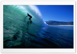 Surfing The Tube HD Wide Wallpaper for Widescreen