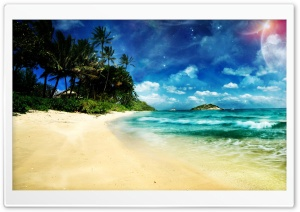 Surreal Beach Ultra HD Wallpaper for 4K UHD Widescreen desktop, tablet & smartphone