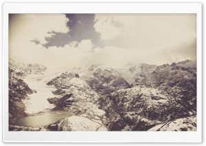 Susten Pass, Glacial Lake HD Wide Wallpaper for Widescreen