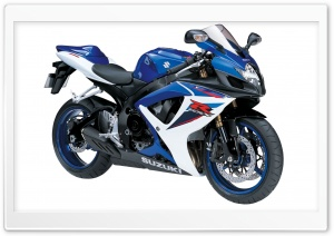 Suzuki GSX R600 HD Wide Wallpaper for 4K UHD Widescreen desktop & smartphone