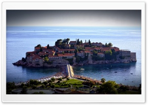 Sveti Stefan Ultra HD Wallpaper for 4K UHD Widescreen desktop, tablet & smartphone
