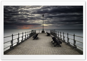 Swanage Pier Photography Ultra HD Wallpaper for 4K UHD Widescreen desktop, tablet & smartphone