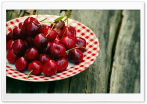 Sweet Cherries Fruits HD Wide Wallpaper for 4K UHD Widescreen desktop & smartphone