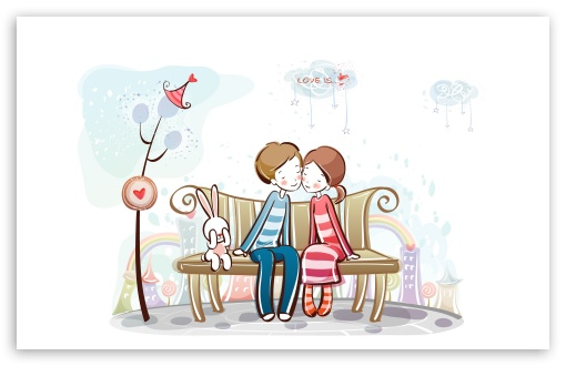 Sweet Couple On Bench HD wallpaper for Wide 16:10 5:3 Widescreen WHXGA WQXGA WUXGA WXGA WGA ; HD 16:9 High Definition WQHD QWXGA 1080p 900p 720p QHD nHD ; Standard 4:3 5:4 3:2 Fullscreen UXGA XGA SVGA QSXGA SXGA DVGA HVGA HQVGA devices ( Apple PowerBook G4 iPhone 4 3G 3GS iPod Touch ) ; Tablet 1:1 ; iPad 1/2/Mini ; Mobile 4:3 5:3 3:2 16:9 5:4 - UXGA XGA SVGA WGA DVGA HVGA HQVGA devices ( Apple PowerBook G4 iPhone 4 3G 3GS iPod Touch ) WQHD QWXGA 1080p 900p 720p QHD nHD QSXGA SXGA ;