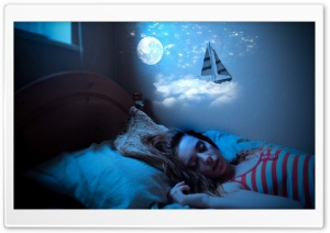 Sweet Dreams HD Wide Wallpaper for Widescreen