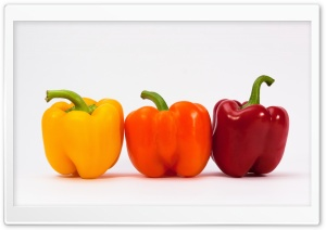Sweet Peppers HD Wide Wallpaper for Widescreen