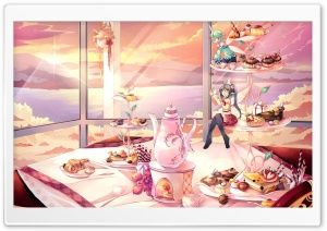 Sweets And Fairies HD Wide Wallpaper for Widescreen