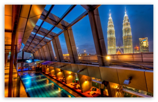 Swimming Pool And Petronas Towers HD wallpaper for Wide 16:10 Widescreen WHXGA WQXGA WUXGA WXGA ; Standard 4:3 5:4 3:2 Fullscreen UXGA XGA SVGA QSXGA SXGA DVGA HVGA HQVGA devices ( Apple PowerBook G4 iPhone 4 3G 3GS iPod Touch ) ; Tablet 1:1 ; iPad 1/2/Mini ; Mobile 4:3 5:3 3:2 5:4 - UXGA XGA SVGA WGA DVGA HVGA HQVGA devices ( Apple PowerBook G4 iPhone 4 3G 3GS iPod Touch ) QSXGA SXGA ;
