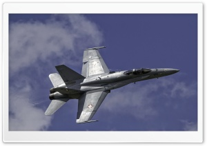 Swiss Aviation F18 HD Wide Wallpaper for Widescreen